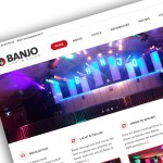 Nieuwe website Banjo Licht en Geluid online
